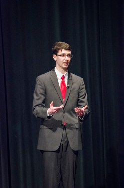 Everett Oratory Competition 2014Christopher Landers '15